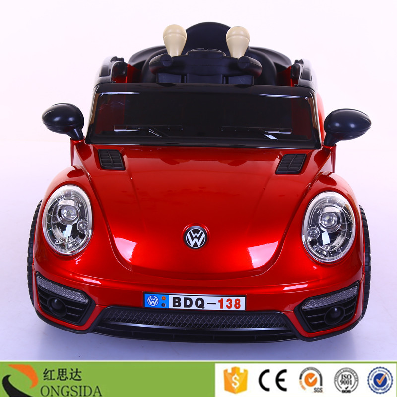 China Hongsida Hot Sale Kids Electric Car Battery Powered Baby Ride On Toy Cars