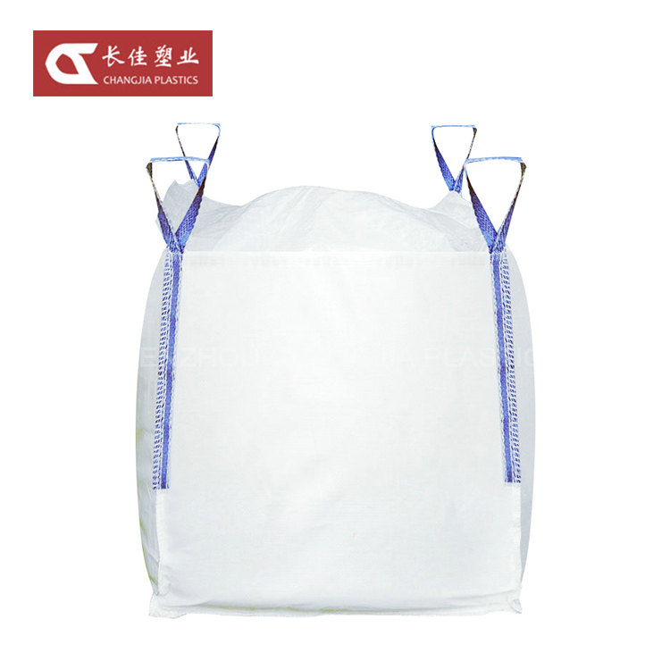 Top Full Open Breathable Soft Container Pp Ton Big Jumbo Bag For Sand