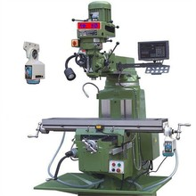 2017 best selling high quality M3 CNC conventional milling machine together with power table feed