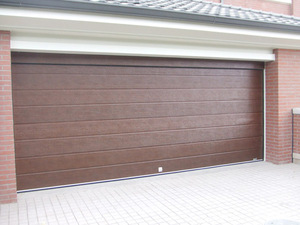 Finished Surface Finishing and Steel Door Material garage door panel
