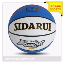 High quality size 5 teenager PVC/PU laminated basketball ball for school