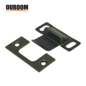 Ouroom wholesale products 110412 heavy duty roller catch/spring catch/door catch hinge