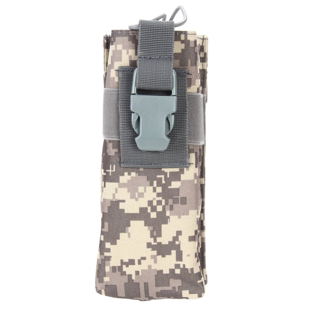 Tactical Assault Outdoor Cycling Travel Open Top Water Bottle Pouch Carry Bag