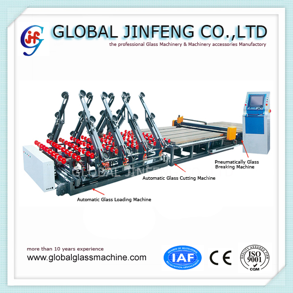 JF4028 CNC type glass loading machine