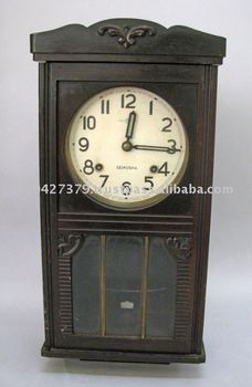 Seikosha Antique Hanging Clock Buy Wall Clock Wood Wall