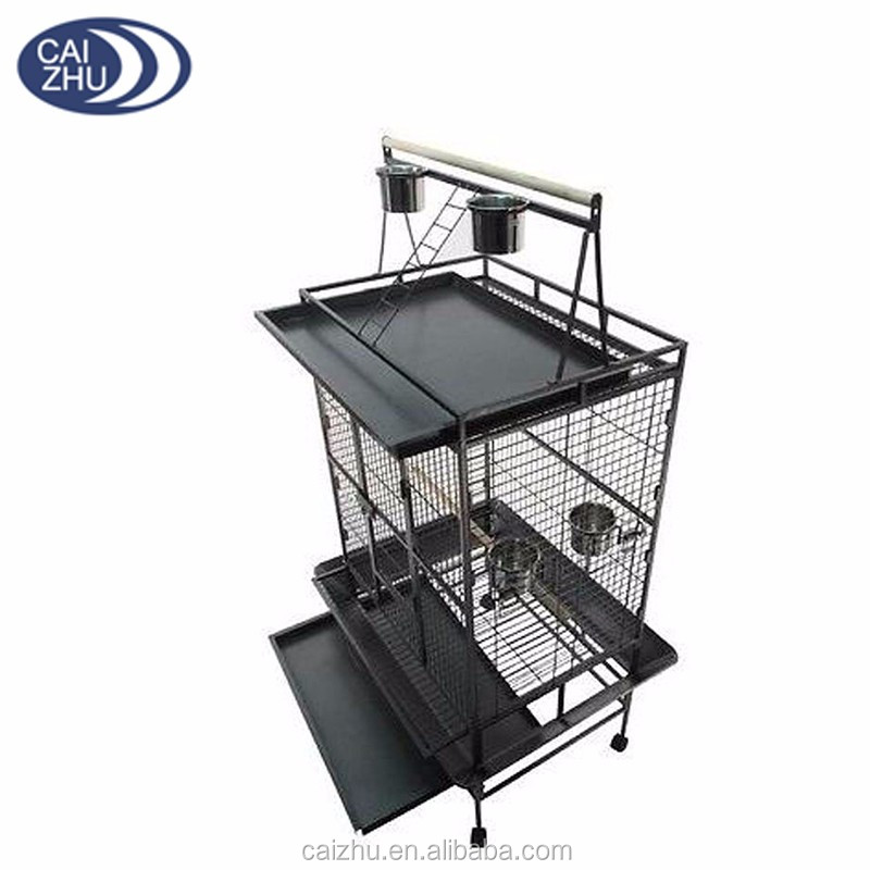 Manufacturer customized color iron african grey large parrot cage
