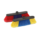 Item No.0577R best selling economic plastic soft broom with soft PET bristle for indoor and outdoor sweeping