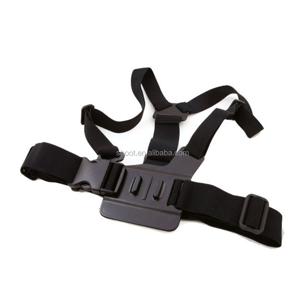 Hot for GoPro A Chest/breast Strap Mount Go pro Cheststrap for GoPro 5 4 3/3+ Sjcam Xiaoyi camera