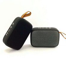 Hot Menjual Hadiah Promosi Tekstur Kain Portable Wireless Speaker Mini Bluetooths Speaker dengan FM/USB/<span class=keywords><strong>TF</strong></span>