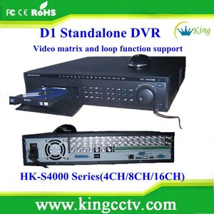 hot selling 4 Ch h.264 Standalone dvr series HK-S4004F cctv dvr recorder #