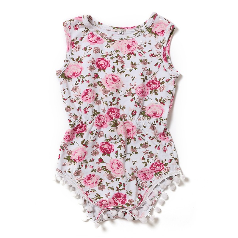 Wholesale Baby Clothes Organic Cotton Baby Romper Girls