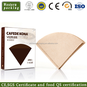 CE/EU Certification Hot sale v60 paper coffee filter,filter paper