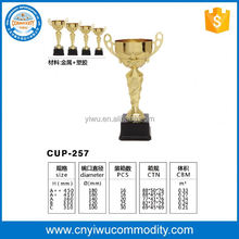 custom metal trophy making supplies,hot sell custom metal trophy parts, trophy for souvenirs