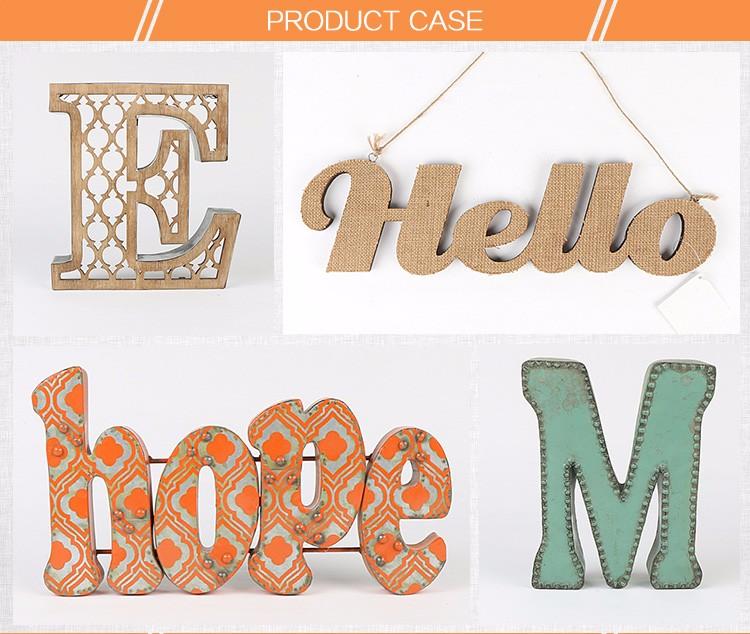 Hanging craft art mind wood alphabet letter wholesale for Art minds wood crafts
