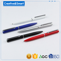 Diary stationery notebook writing metal ball pen