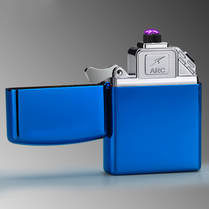 New Arrival Double Arc Electric Lighter Usb Charged Cigarette Flameless Lighters Custom No Minimum