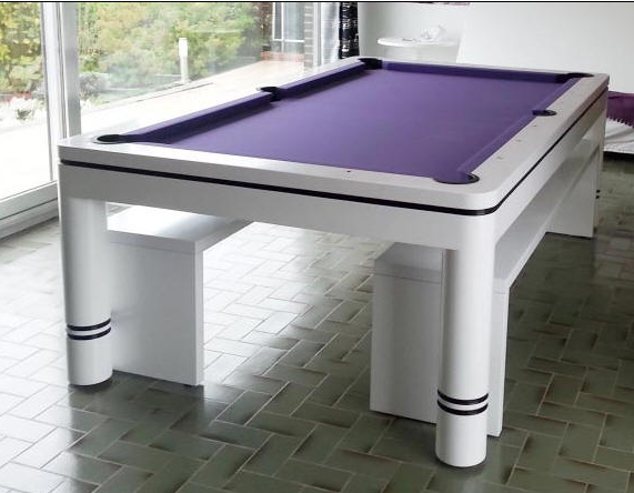 Fashion Design Billiard home dining pool table 8ft pool table