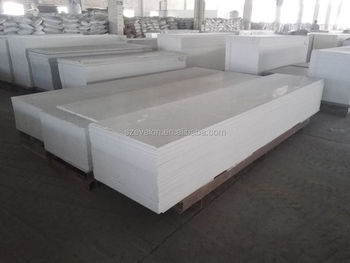 Artificial solid surface restaurant kitchen wall panels resin stone
