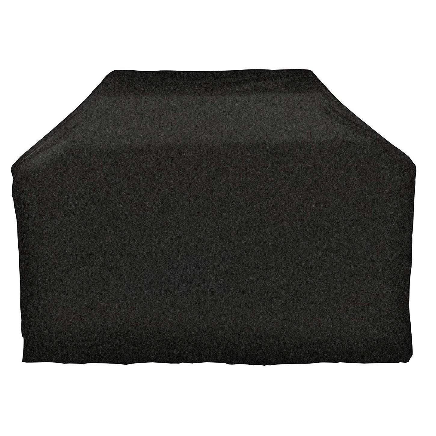 CNSE Grill Cover, Medium 57-Inch Water Proof Patio Outdoor BBQ Barbecue Smoker/Grill Cover for Weber, Holland, Jenn Air, Brinkmann and Char Broil -Black