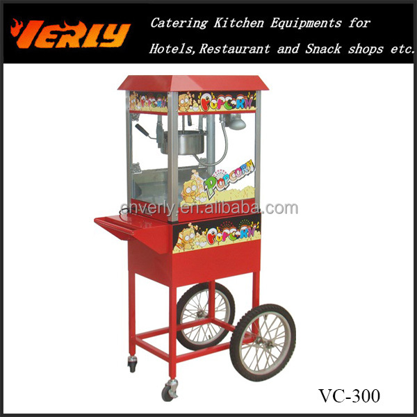 Commercial Popcorn Machine Cart /Popcorn Machine cart with wheels VC-300