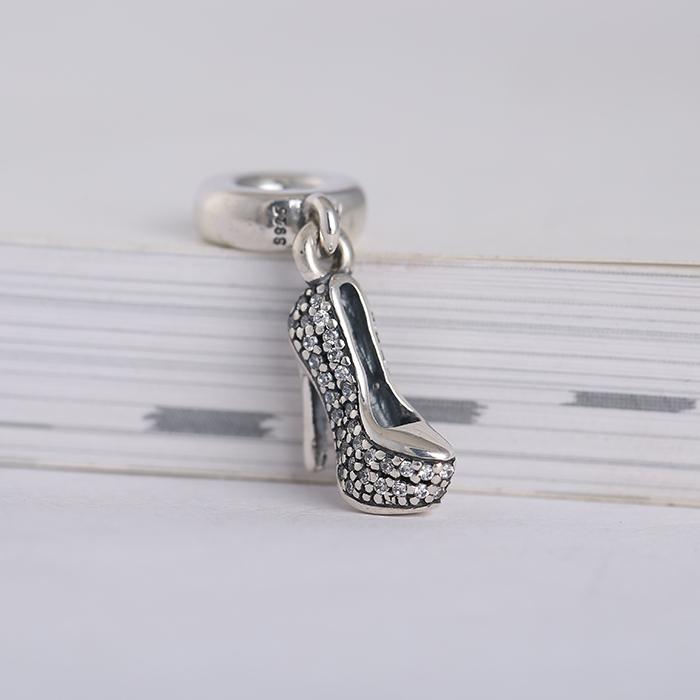 Shoe Charm Bracelet: Aliexpress.com : Buy New Stilettos Dangle Charms Beads
