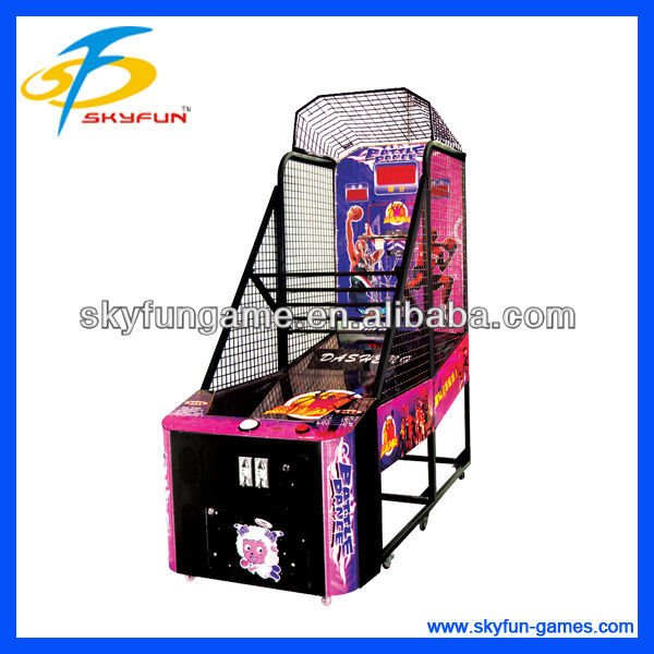 coin operated indoor basketball electric games for play land