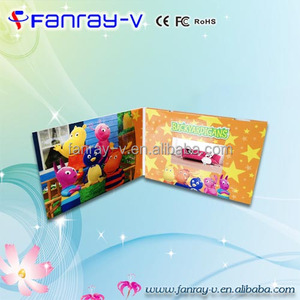 Newest 4.3inch lcd wedding card,video broadcasting card,video modules