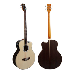 China Aiersi 4-String Electric Acoustic Bass Guitar