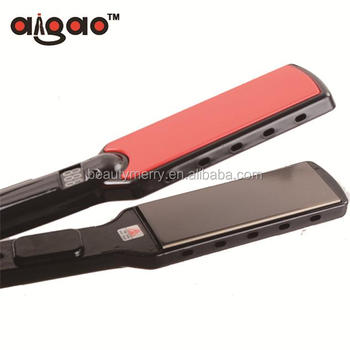 Custom Logos Private Label Hair Flat Iron Ceramic Coating Straightener Personalized Korean