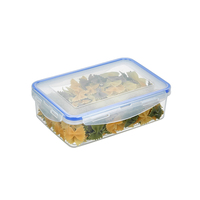 Vacuum Storage Box Rectangle 1000ml Freezer to Microwave Containers Lunch Box Plastic Home Daily Necessities