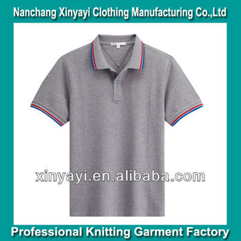 da82c49ee0 cheap name brand clothes Garment Factory Knit Yarn Dyed collar Design  Clothes Men s Clothing Wholesale