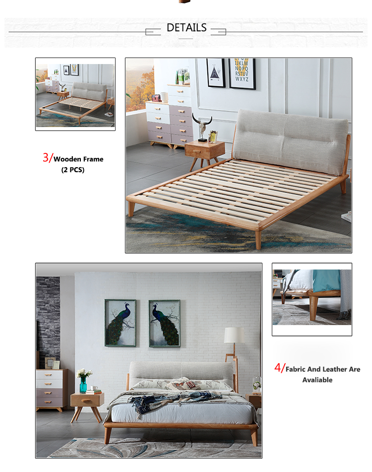 Modern Design Futuristic Bed Wood Exotic Beds