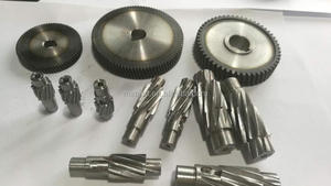 igh precise hobbing helical gears for stepper/nema motor