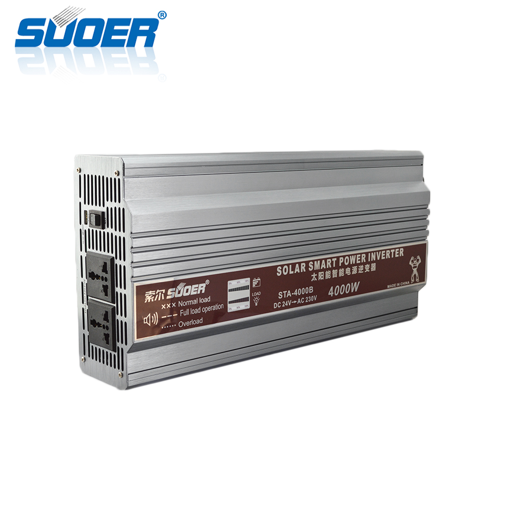 Suoer New high efficiency solar panel system 24V 3000W off grid solar power energy system 3kw with battery