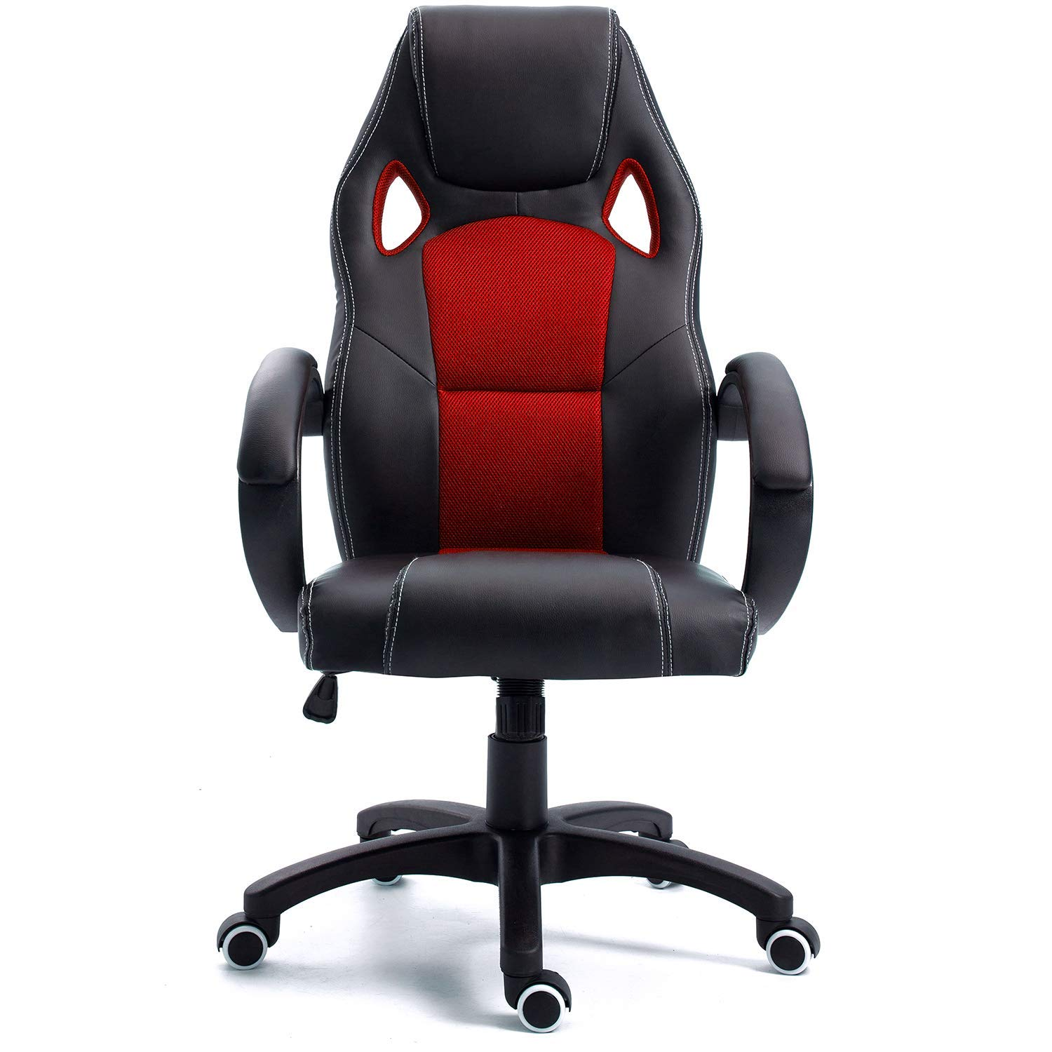 Samincom Office Desk Chair with mesh Back, Swivel Gaming Chair, W49 x D49 x H109-120CM