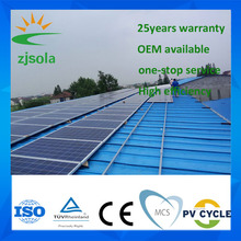 ZJSOLA best supplier Photovoltaic 300W Flexible Solar Panels Price From China