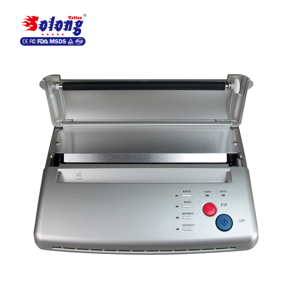 Solong Tattoo Professional Tattoo Thermal Copier Sticker Draagbare goede professionaltattoo transfermachine