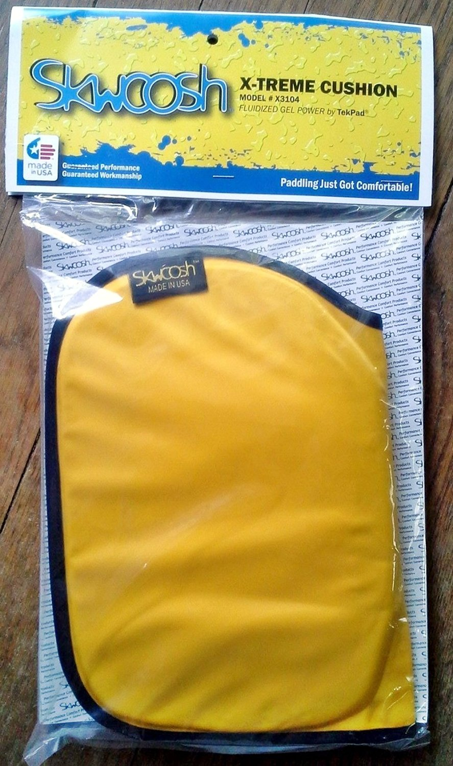 Buy Skwoosh Angler Kayak Fishing Cushion Gel Seat Pad For All Styles