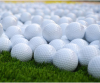 Wholesale Blank Double Layer New Golf Practice Golf Balls