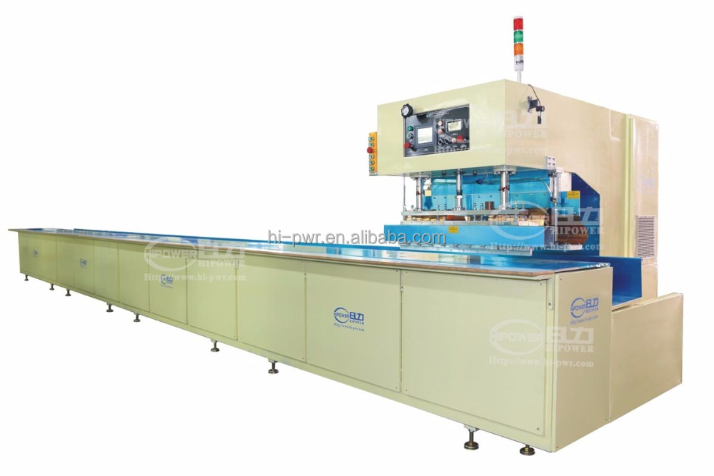 Automatic High Frequency PVC plastic sheet Welding Machine