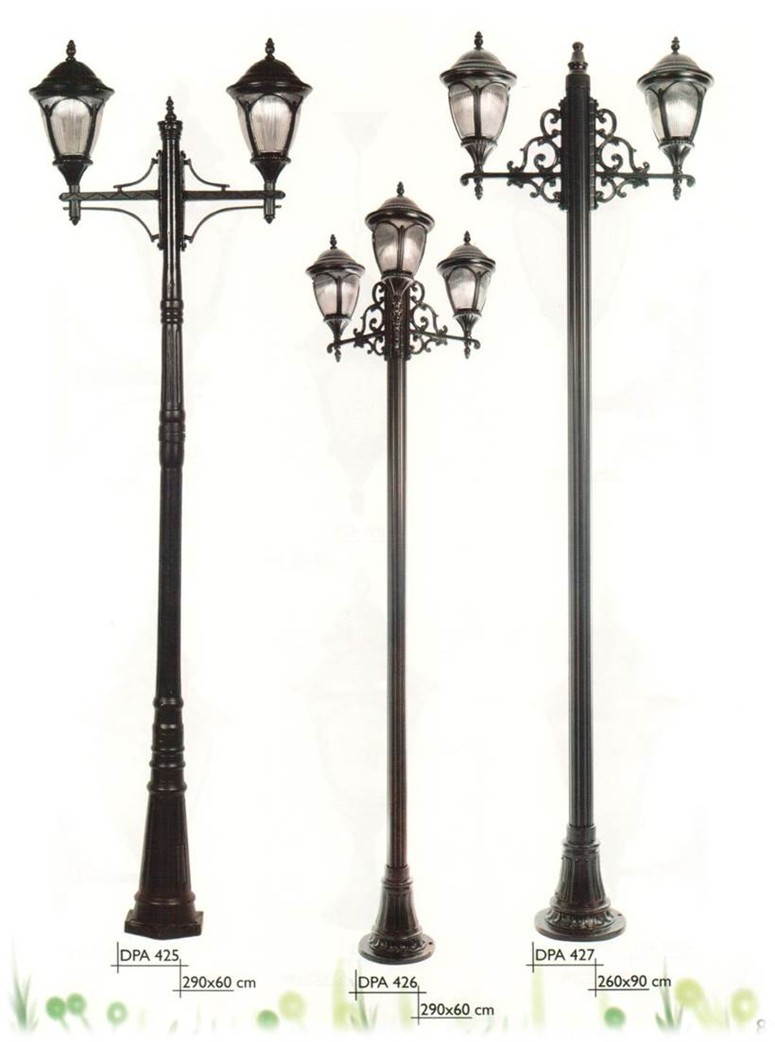 35m Antique Cast Iron Garden Lamp Post With Factory Price Buy