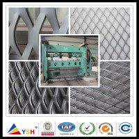 High Quality Decorative Aluminum Expanded Metal Mesh Panels With ISO9001 Certificate