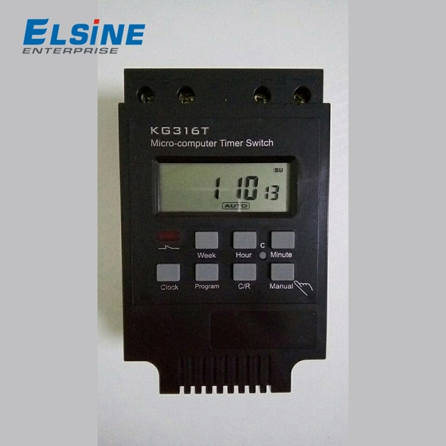 KG316T 12V 25A Programmable Digital Timer Control Switch
