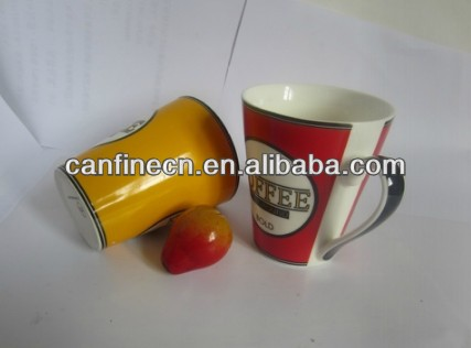 Eco fine bone china /porcelain/ ceramic coffee mugs