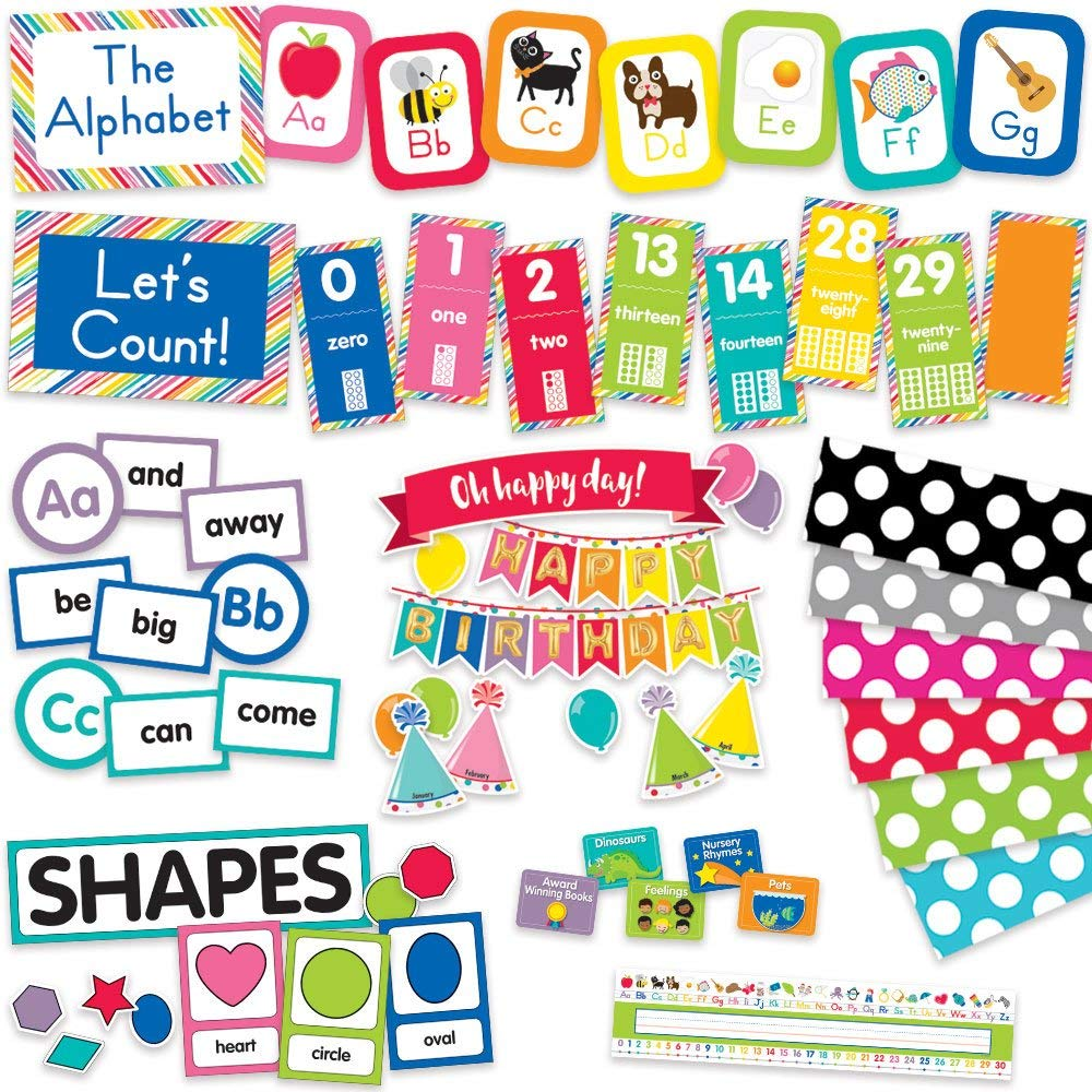 Just Teach Classroom Environment Décor All In One Kit