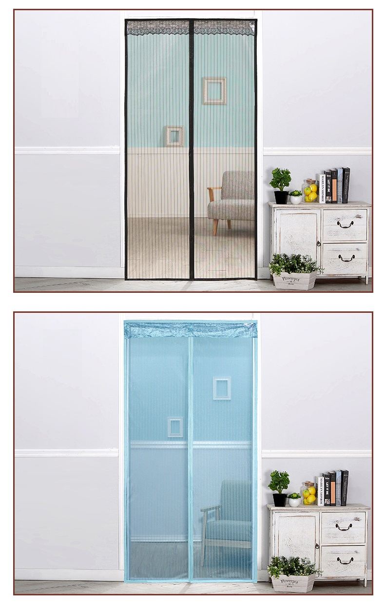 China Suppliers Latest Sliding Door Magnetic Fly Screen Door Lowes