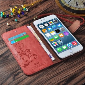 Wallet Phone Case Card Slot PU Leather Stand Cover Mask For Samsung iPhone