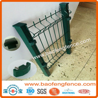 Powder Coated Welded Wire Mesh Fence Panel (Factory Exporter)
