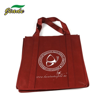 Factory direct fashion environmentally friendly non woven shopping bag