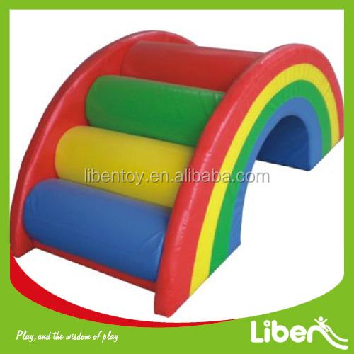 Nieuw Indoor Soft Play Speelgoed Rainbow Bridge Voor Kids Klimmen - Buy VO-17